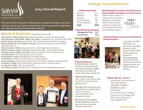 SAWA 2015 Annual Report