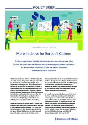 More Initiative for Europe's Citizens