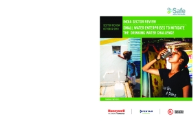 India Sector Review: Small Water Enterprises to mitigate the Drinking Water Challenge