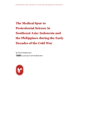 The Medical Spur to Postcolonial Science in Southeast Asia: Indonesia and the Philippines during the Early Decades of the Cold War