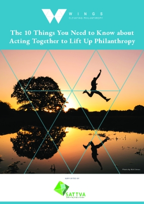 The 10 Things You Need to Know about Acting Together to Lift Up Philanthropy